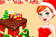 game Anna Christmas Cake Contest
