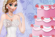 game Anna Frozen Wedding Look