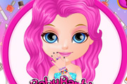 game Baby Barbie Glittery Nails
