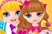 game Baby Barbie Sisters Matching