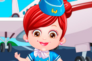 game Baby Hazel Air Hostess