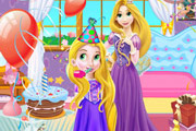 game Baby Rapunzel Birthday Party