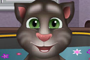 game Baby Talking Tom Bathing
