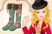 game Barbie Autumn Wellies