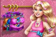game Barbie Pregnant Tanning Solarium