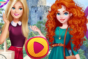 game Barbie Visits Merida