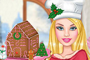 game Barbie's Gingerbread House