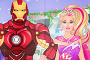 game Barbies Superhero Wedding