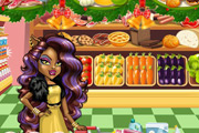 game Clawdeen Wolf Christmas Shopping