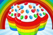 game Cooking Rainbow Cupcake