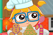 game Cutezee Cooking Academy Gingerbread