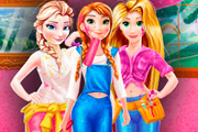 game Disney Princesses Room Painting