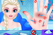 game Doctor Frozen Elsa Hand