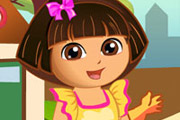 game Dora Loves Flowers