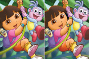 game Dora The Explorer Spot The Difference