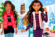 game Elena And Moana Winter Party