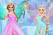 game Elsa Anna Frozen Angel