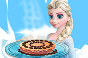 game Elsa Brownie Cake