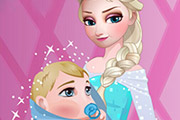game Elsa Care Baby