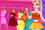 game Elsa Dress Designer