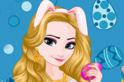 game Elsa Easter Dress Up