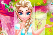 game Elsa Fairy Room Decoration