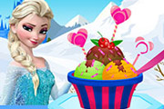 game Elsa Ice Cream Decoration