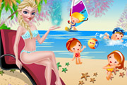 game Elsa Summer Holiday