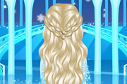 game Elsa's Lovely Braids