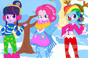 game Equestria Girls Winter Fashion