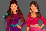 game Fashion Studio - Selena Gomez