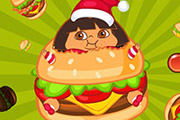 game Fat Dora Eat Eat Eat