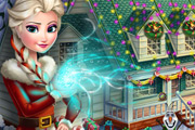 game Frozen X-mas House Makeover