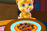 game Ginger Cooking Pizza
