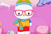 game Hello Kitty Winter Room Cleaning