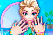 game Ice Princess Nails Salon