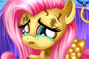 game Little Fluttershy at the hospital
