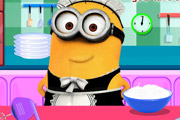 game Minion Cooking Pancakes