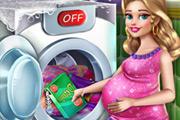 game Mommy Laundry Day