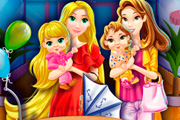 game Mother Princesses Mall Shopping