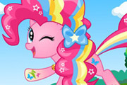 game My Little Pony Pinkie Pie Rainbow Power Style