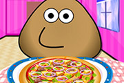 game Pou Pizza Chef