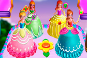 game Princesses Cake Cooking