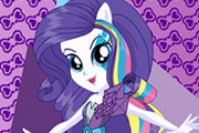 game Rainbow Rocks Rarity Dress Up
