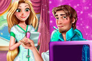 game Rapunzel and Flynn Hospital Emergency