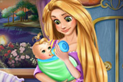 game Rapunzel Baby Feeding