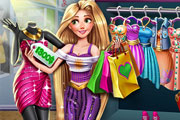 game Rapunzel Realife Shopping