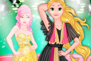 game Rapunzel VS Cinderella Model Rivals