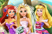 game Rapunzel Wedding Party