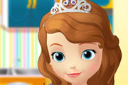 game Sofia The First Cooking Muffins